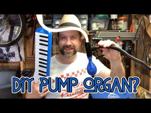 Can I Turn My Melodica Into a Pump Organ?