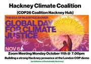 Hackney Climate Coalition / Hackney COP26 coalition hub meeting