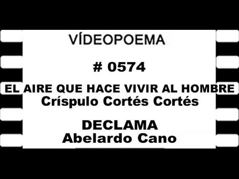 0574 21 19 05 EL AIRE QUE HACE VIVIR AL HOMBRE   Crispulo Cortés Cortés