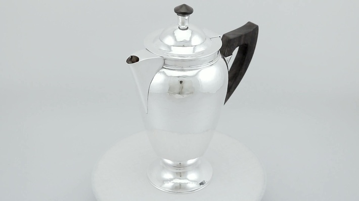 Sterling Silver Coffee Pot - Vintage George VI (1948)