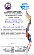 FJ 20210321 DR HONORIS CAUSA EN EDUCACIÓN SUPERIOR