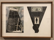"""Rene d'Harnoncourt Dollar Bill"" (Ray Johnson, 1970)"