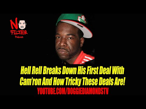 Hell Rell Breaks Down His First Deal With Cam'ron And How Tricky These Deals Are!