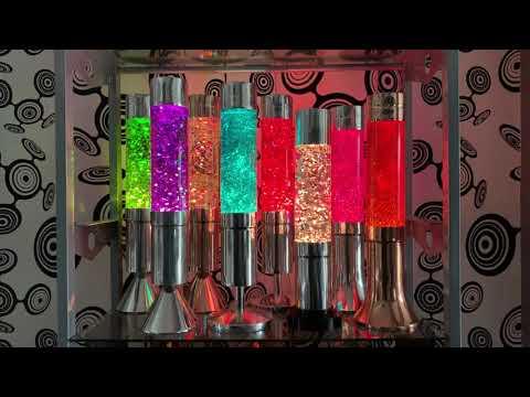 Crestworth Glitter Lamps