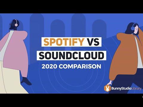 Spotify Vs SoundCloud: 2021 Hot Debate!