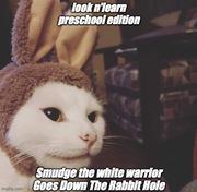 Smudge white warrior