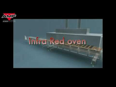 InfraRed Tunnel Oven for Melting, Baking, Toasting and Cleaning