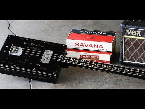 Cigar Box Blues Music - Bottleneck Slide guitar