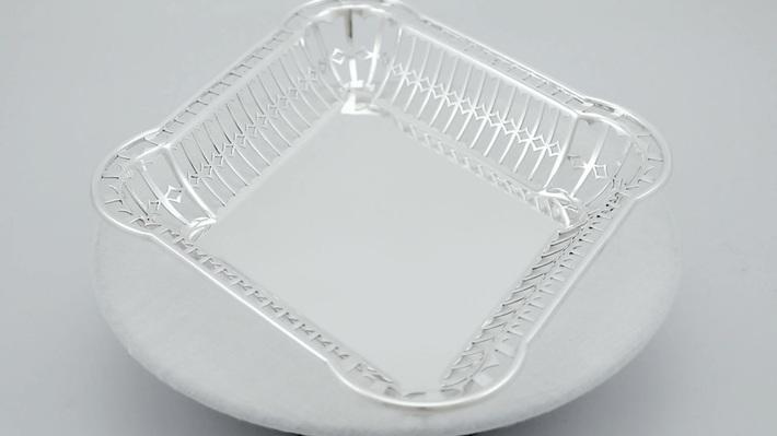 Sterling Silver Bread Dish - Antique George V (1913)