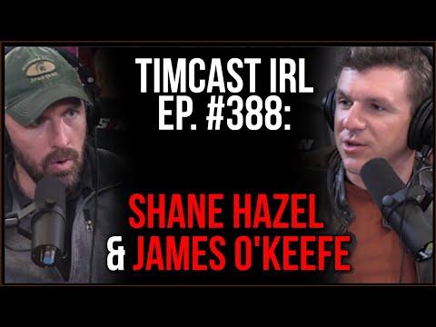 Timcast IRL - Pfizer Email Leak Shows Fetal Cells Used To Make Vaccine w/Shane Hazel & James O'Keefe