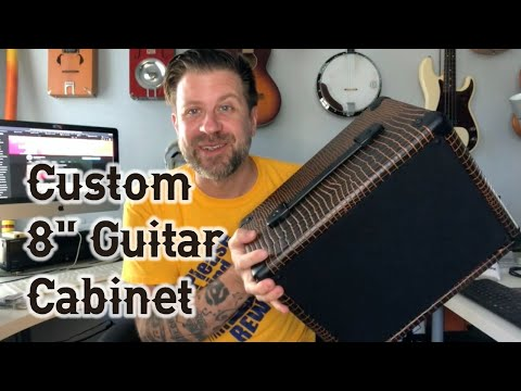 """My New 8"""" Cabinet (complete with CBG demo)"""