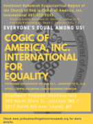 cogic of america,inc. for Equality