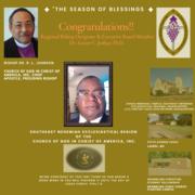 Regional Bishop Designate Dr. Xavier C. Joshua Th.D.,