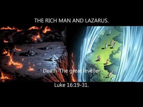 Lazarus and the rich man (english on line sermon)