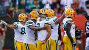 Mason Crosby overcomes struggles, kicks game-winning FG to lift Packers past Bengals in wild affair