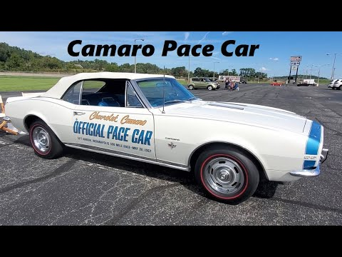 1967 Camaro Convertible Pace Car