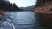 2021 09 Last Paddle on Gross Resevoir for the Season
