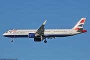 British Airways A321 G-NEOS