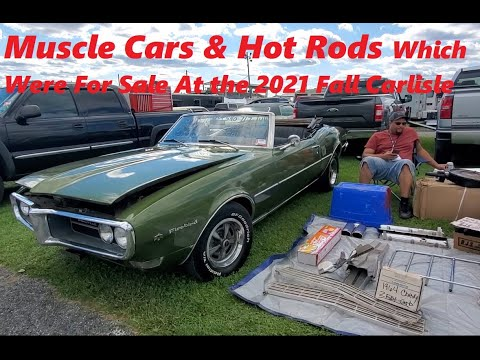 Classic Car Shopping At the 2021 Fall Carlisle Car Corral  Video 2