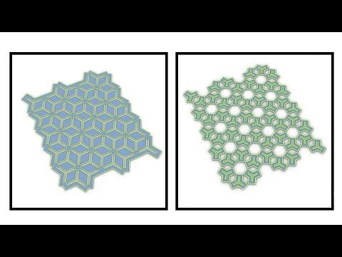 Triangular pattern