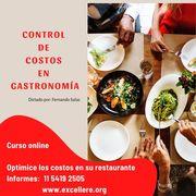 Curso: Control de Costos en Gastronomía.