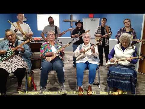 Folk Festival 6 of 9 - Song Sung Blue - Cigar Box Guitars