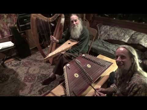 """HEWLETT"" on Hammer Dulcimer & Bowed Psaltery"