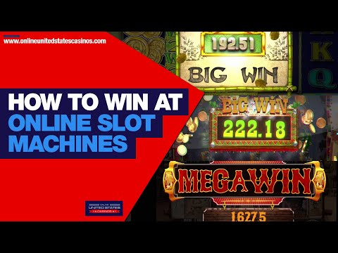 How To WIN at Online Slot Machines 🎰 | Best Online Casinos USA