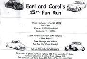 Earl and Carol's 15th Annual Fun Run -Cookeville, TN