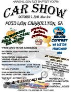 Son Rise Baptist Church Youth Car Show -Carrollton, GA