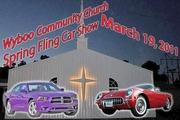 Wyboo Community Church  2nd annual Spring Fling Car show/swap meet  12135 hwy 260 Manning SC  29102