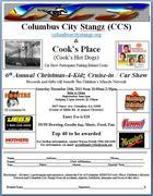 6th Annual Christmas-4-Kidz Cruise-in / Car Show -Columbus, GA