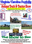 11th Annual Truck and Tractor Show -Lincolnton, NC