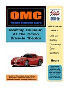 Postponed to tomorrow due to rain! OMC Cruise-In to the Ocala Drive-In Theatre