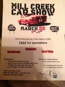 Mill Creek Car Show -Hoschton, GA