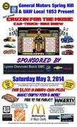 Cruzin for the Music Car, Truck and Bike Show -Columbia, TN