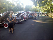 Dahlonega, GA's Cruise In at The Historic Downtown Holly