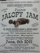 "JUNE JALOPY JAM ""OL SKOOL HOTROD SHOW & SWAP MEET, & vintage camper, bicycle & mini bike rally -Dalton, GA"