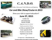 C.A.N.D.O. Scholarship Car & Bike Show / Cruise-in -Marietta. GA