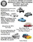 1st Annual American Legion Car & Truck Show -Snellville, GA