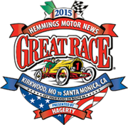 The Great Race 2015 -Kirkwood, MO to Santa Monica, CA