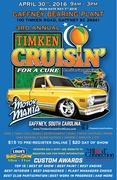 3rd Annual Timken Cruisin' For A Cure Charity Show - Gaffney SC