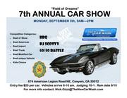 Field of Dreams Annual Car Show in Conyers, GA