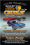 4th Annual Timken Cruisin' For A Cure Charity Show, Gaffney SC