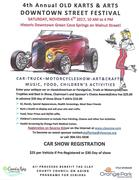 4th Annual Old Karts and Arts Festival, Green Cove Springs, FL