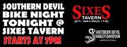 Sixes Tavern in Cartersville,GA for Bike Night