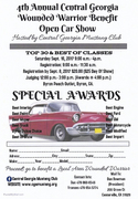 4th Annual Central Ga Wounded Warrior Benefit Open Car Show