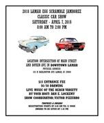 Lamar Egg Scramble Jamboree Classic Car Show -Lamar, SC