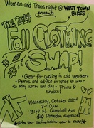 Women and Trans Night Clothing Swap at West Town Bikes!