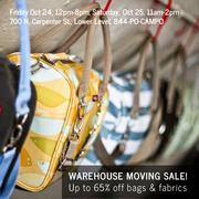 Po Campo Warehouse Moving Sale!